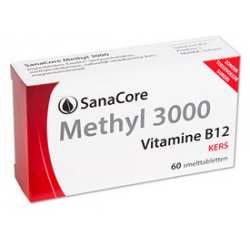 SanaCore Methyl 3000 100% 60 smelttab