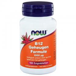 Vitamine B12 geheugenformule 1000mcg