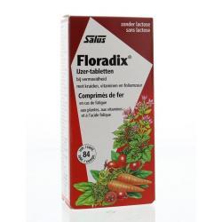 Floradix ijzer tabletten