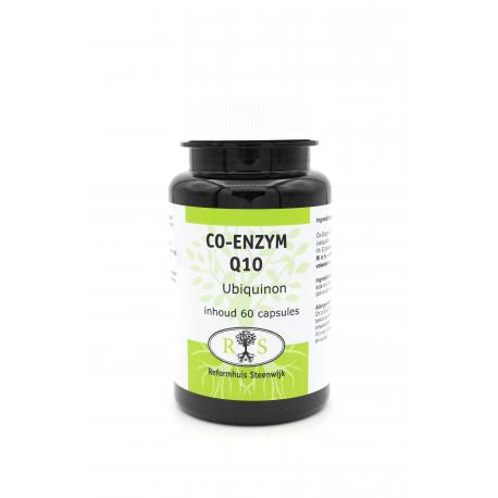 Reformhuis Steenwijk Co-Enzym Q10 Ubiquinon 60 caps