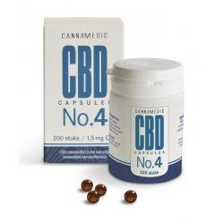 CBD Capsules nr 4 1,5 mg