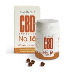 CBD Capsules nr 16 6 mg