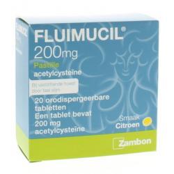 Fluimucil pastilles