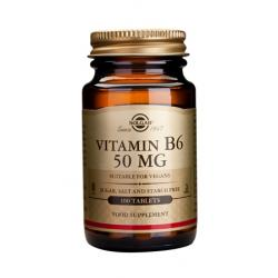 Vitamin B-6 50 mg