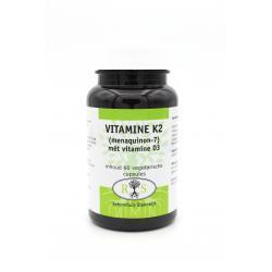 Reformhuis Steenwijk Vitamine K2 met vitamine D3 60 vcaps