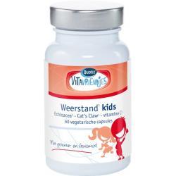 VitaVriendjes Weerstand Kids 60 vcaps