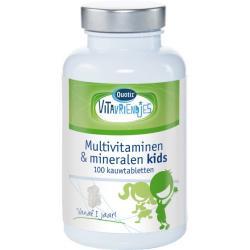 Vita Vriendjes Kinderbeertjes Multivitamine 100 kauwtab