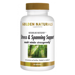 Golden Naturals Stress en spanning support 60 caps