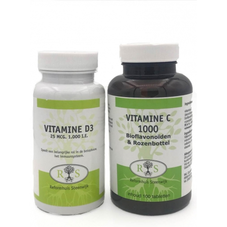 Vitamine C + Vitamine D