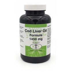 Reformhuis Steenwijk Cod Liver Oil Formule 1450 mg 90 caps